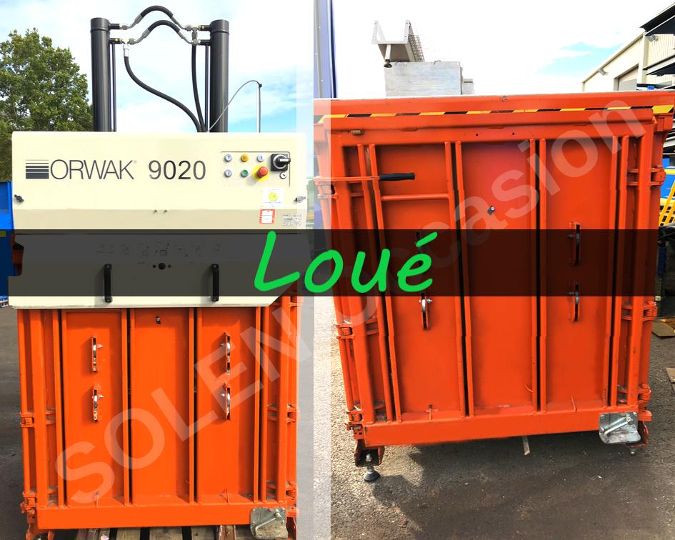 Presses à balles verticales Orwak 9020 - 6