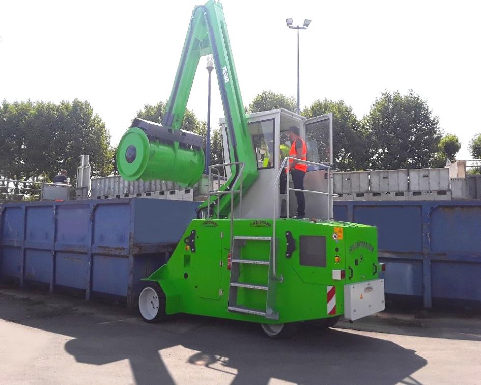 Bergmann - Compacteur à rouleau - ROLL PACKER Mobile