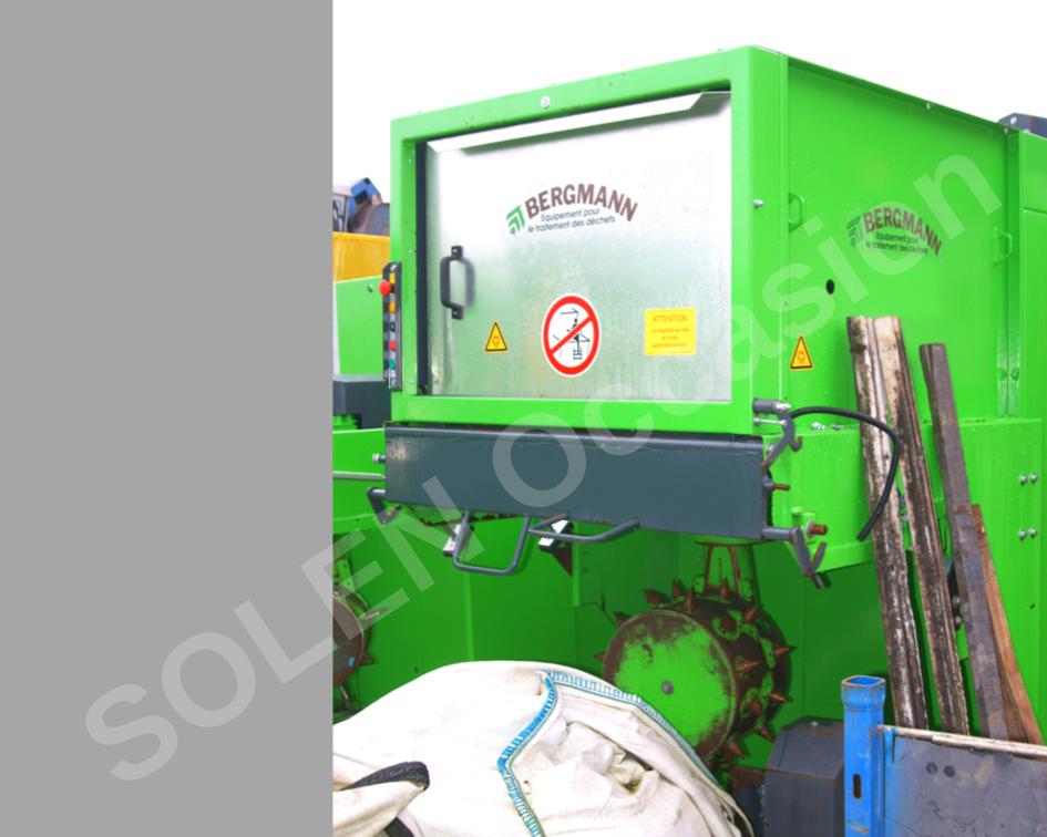 ROTOS Compacteurs - Bacs APS 1100 e BERGMANN - 10