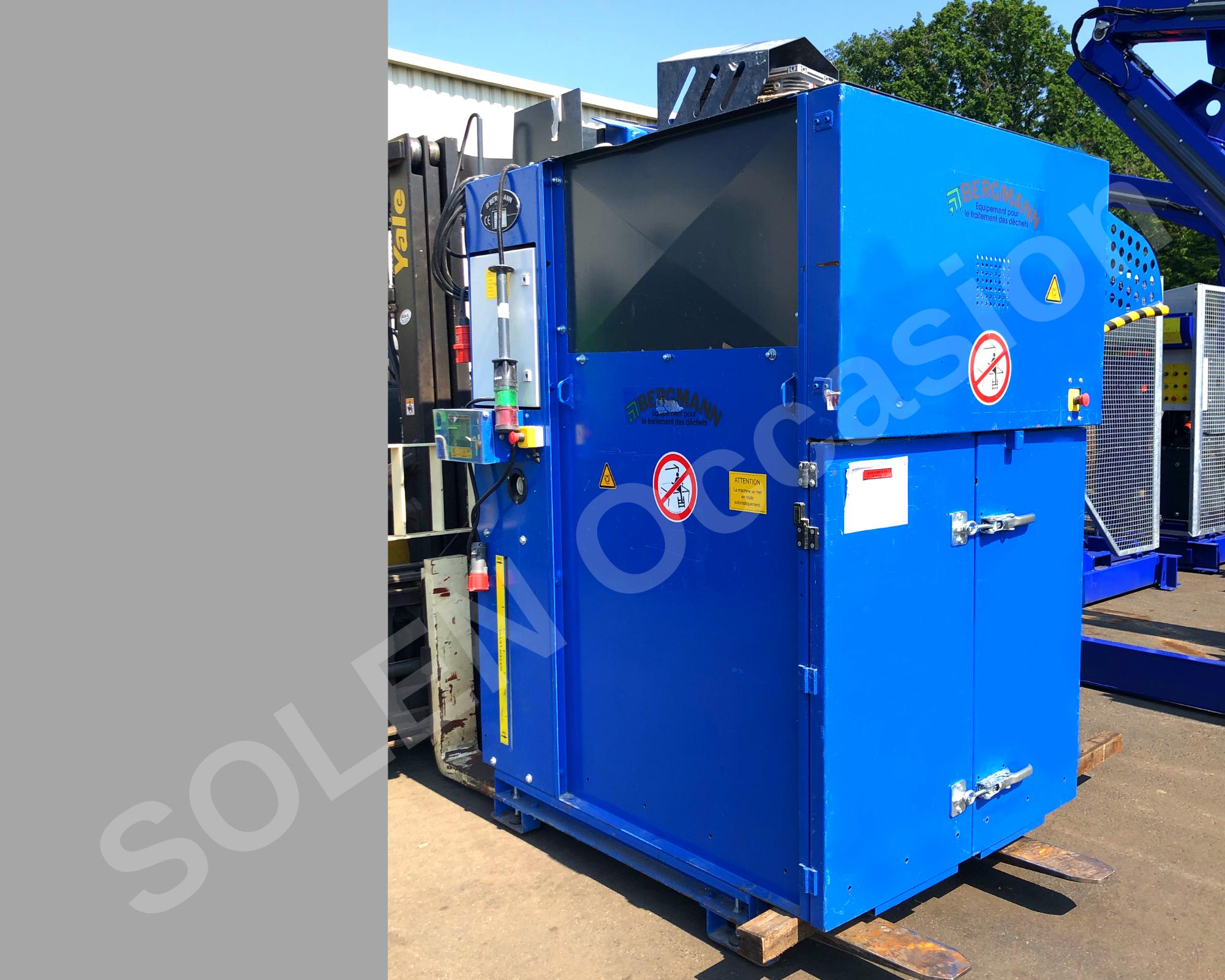 ROTOS Compacteurs - Sacs 1400 e BERGMANN - 7
