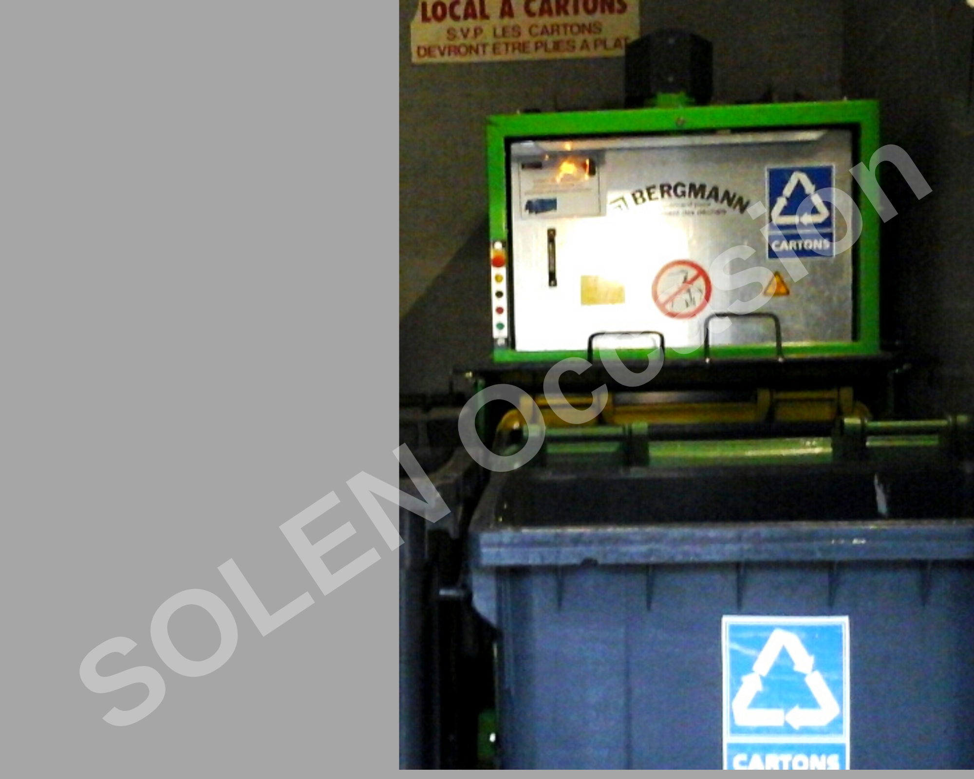 ROTOS Compacteurs - Bacs APS 1100-e 183 BERGMANN - 16