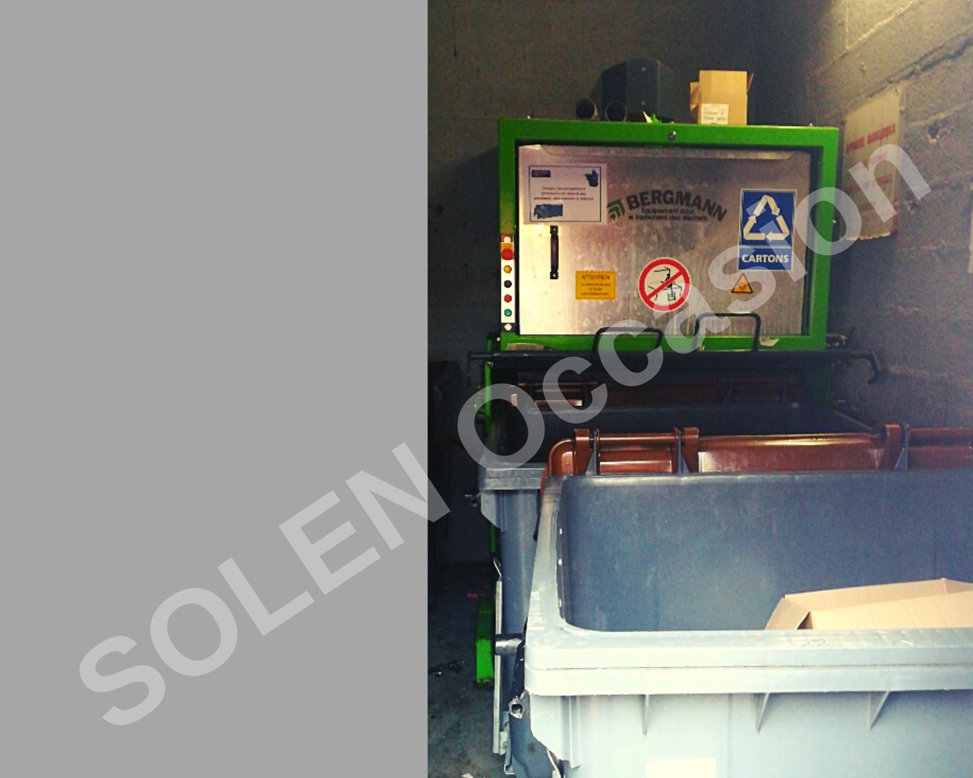 ROTOS Compacteurs - Bacs APS 1100-e 183 BERGMANN - 18