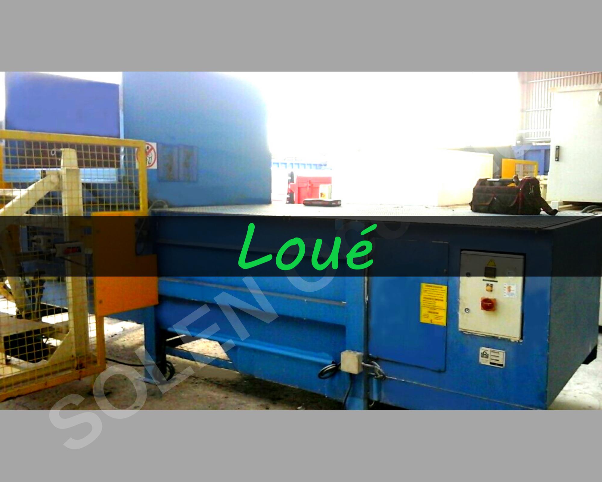 Compacteurs Poste Fixe long TFL3500