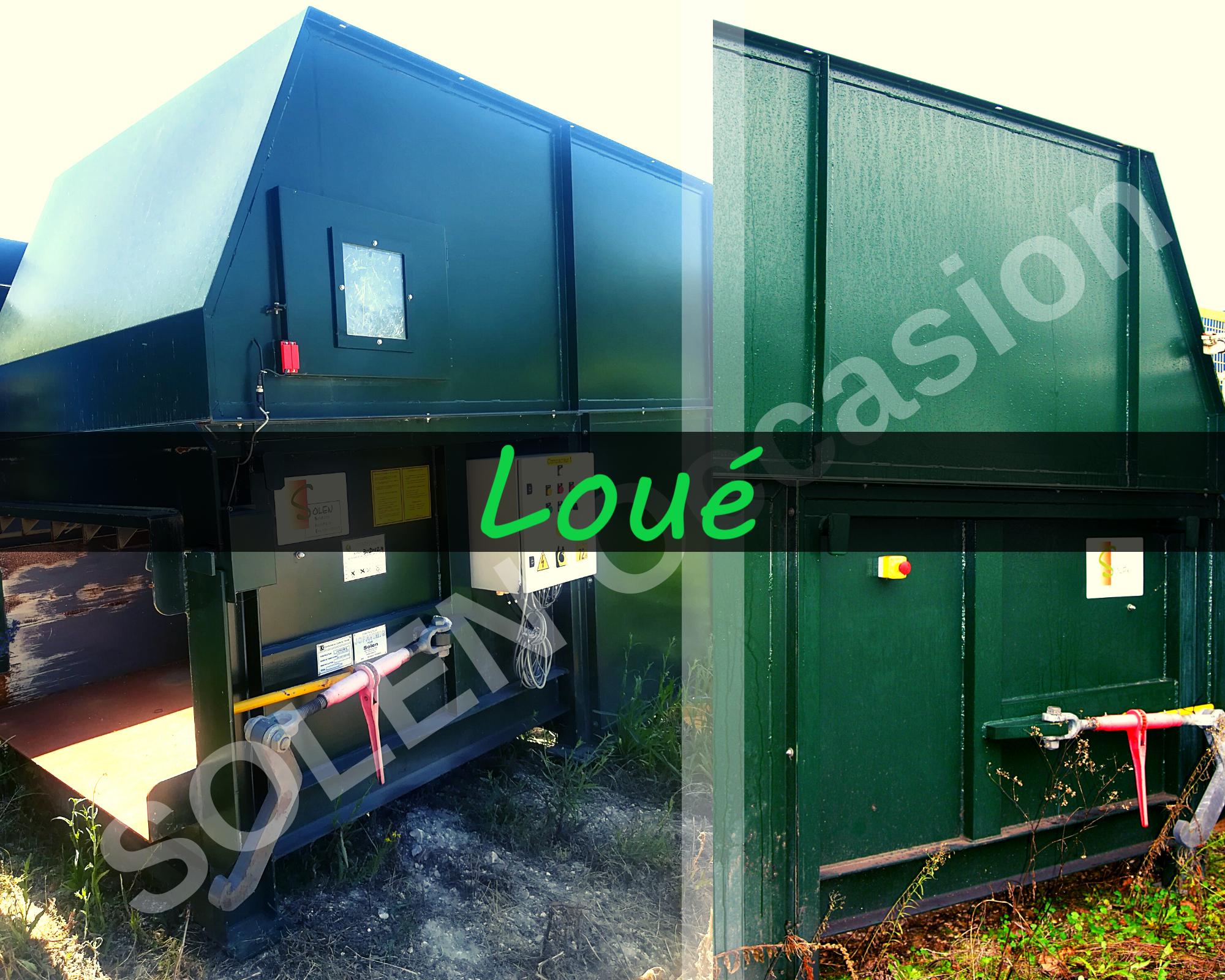 Compacteurs Poste Fixe court PF1100 C