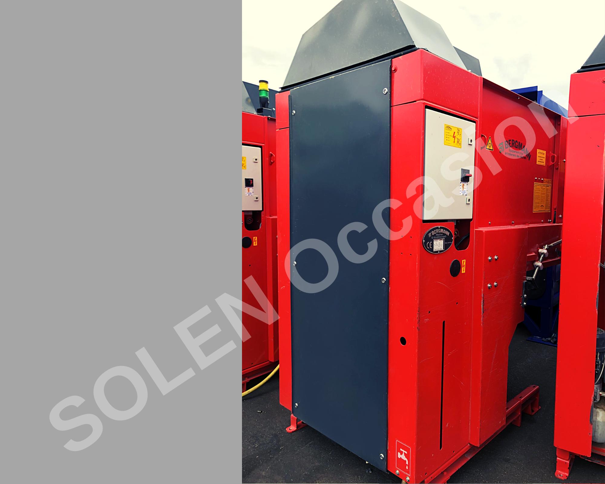 ROTOS Compacteurs - Bacs APS 1100-e 183 BERGMANN - 12122