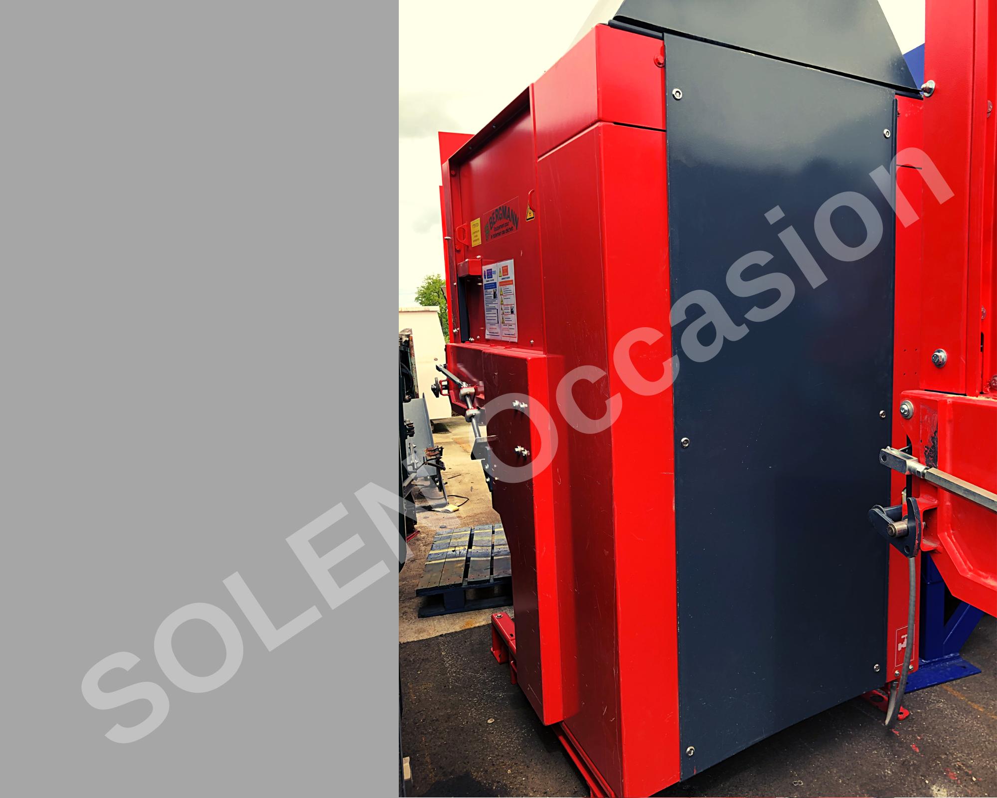 ROTOS Compacteurs - Bacs APS 1100-e 183 BERGMANN - 12124