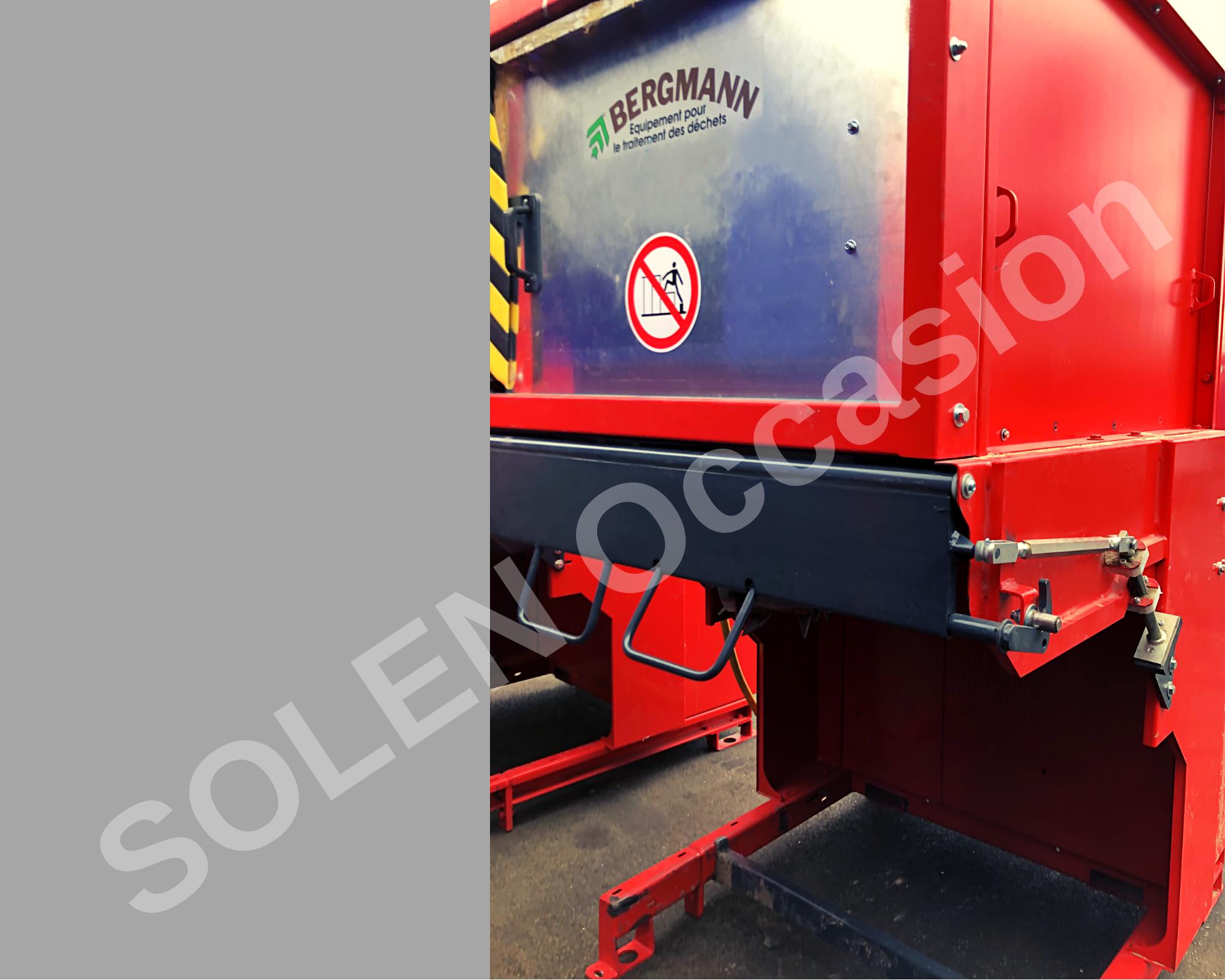 ROTOS Compacteurs - Bacs APS 1100-e 183 BERGMANN - 12135