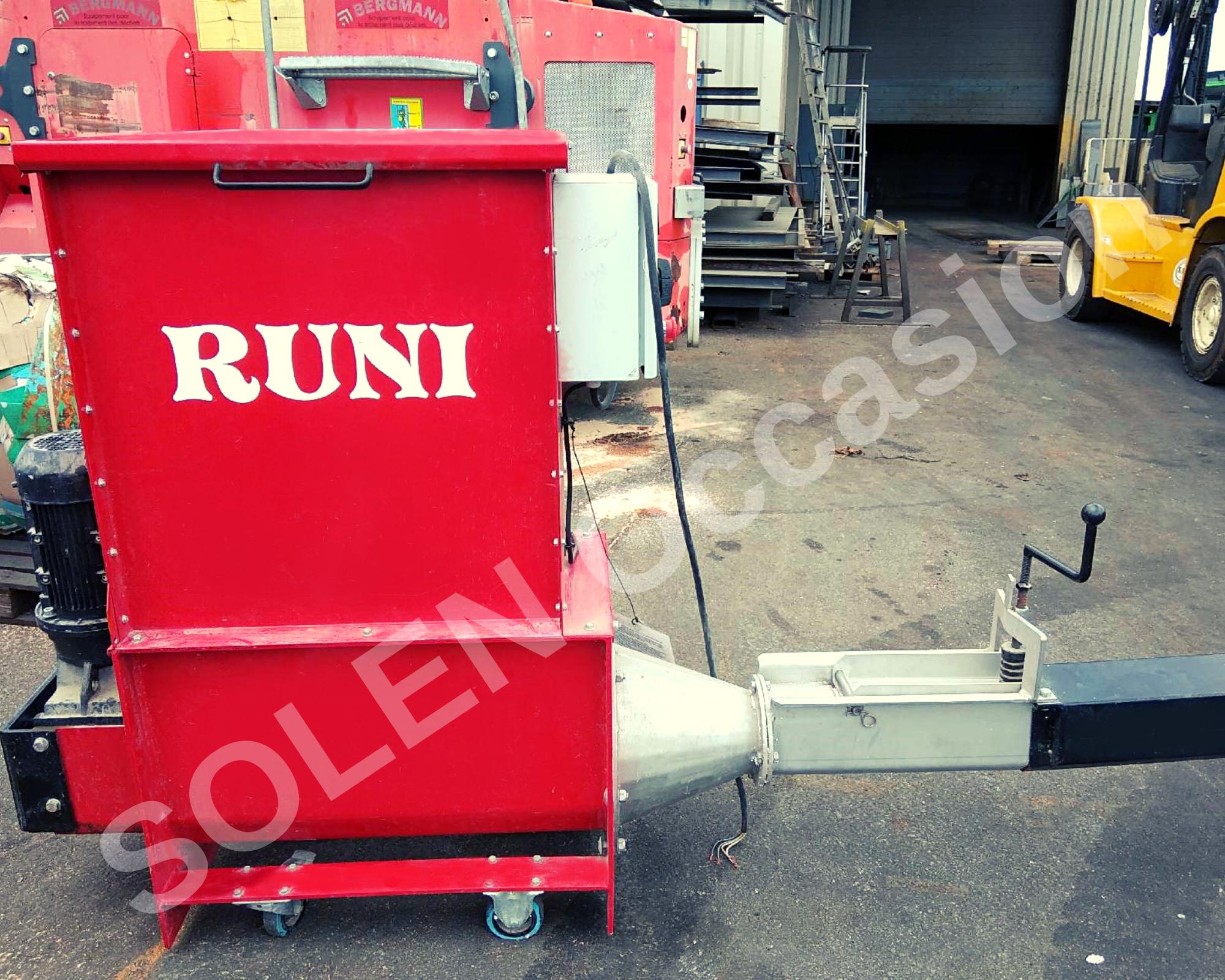 Compacteur Polystyrène RUNI SK120