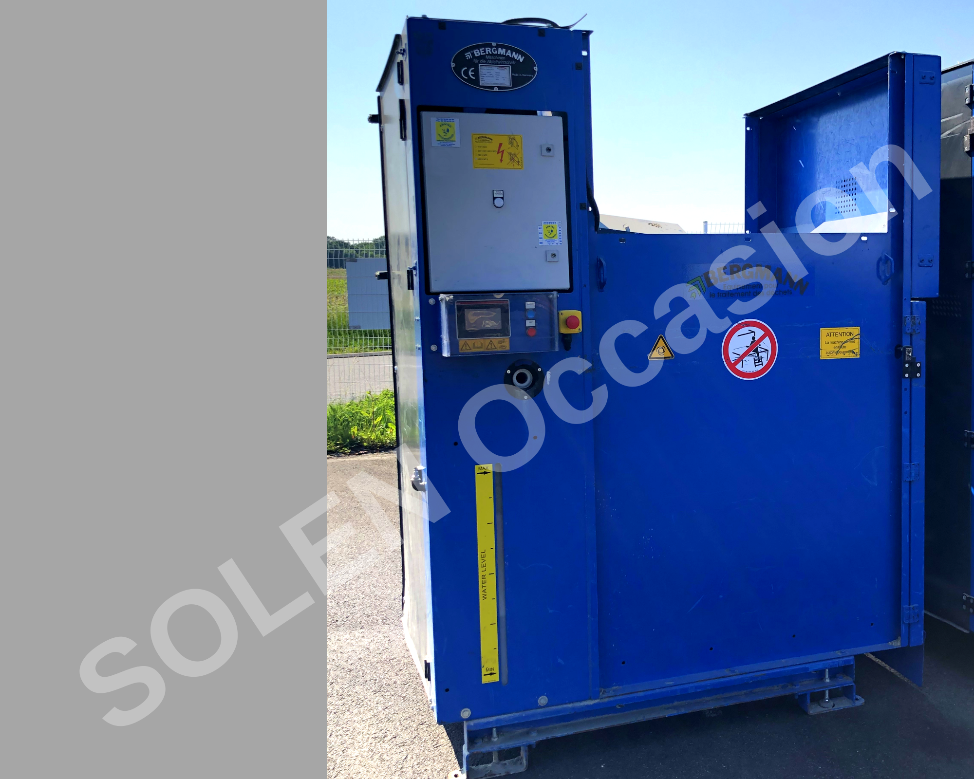 ROTOS Compacteurs - Sacs 1400 e BERGMANN